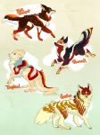 Jumping Spider Canine adoptables (Closed) by Plaguedog