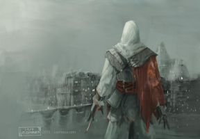 Ezio assassins creed by leomeza