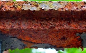 Rusted HandRail by PAlisauskas