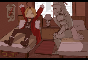 ELRIC BROTHERS by OrangeLightning123