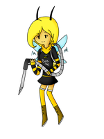 Bee Contest Entry: Lilac by KluckyDucky