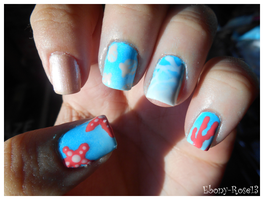 High Tide Nails by Ebony-Rose13