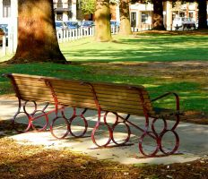 The Park Bench by MissSpocks