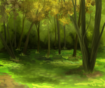 SpeedPaint Forest by HaikuBaikuu