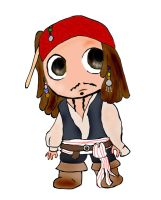 Jack Sparrow SD chibi by Ulla-Andy