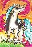 Amber Glow ACEO by Redwall151
