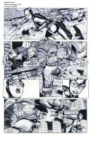 Killer Croc Catwoman pencils 01 by Raffaele-Ienco