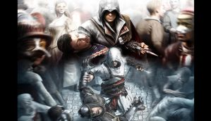 Altair and Ezio AC -2 by SpartanAltair117