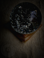 Orb Upon an Onyx Pedestal by singularitycomplex