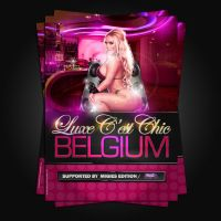 Flyers Luxe c'est chic Belgim by Adriano09