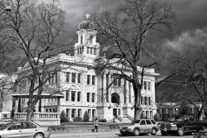 The Court House in Black and White by quintmckown