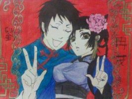 lau and ran-mao by bloodyose1993