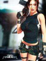 Lara Croft - Tomb Raider by morcegan