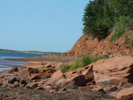 Red Cliff Side PEI by taomatsu
