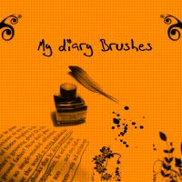 My Diary Brushes by KrisPS