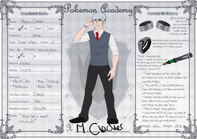PokeAcademy: Magnus Clacher by CloudiKitsune
