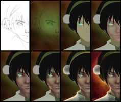Toph Steps by palnk