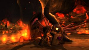 The Death of Onyxia by Saphira001
