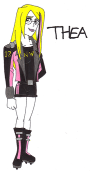 Thea humanized by SUP-FAN
