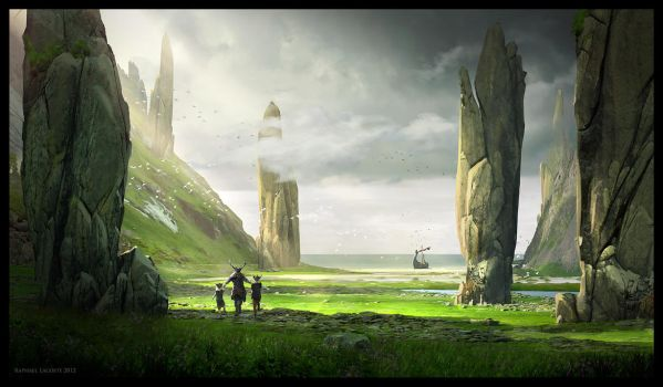 Reunion of Vikky Family by Raphael-Lacoste