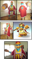 All hail the one, the ONLY: KING DEDEDE! by H-StallionWolf