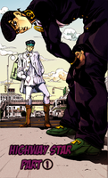 JJBA: Diamond is Unbreakable colored page by A-wild-vic-appears