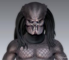 Predator - Zbrush WIP 14 by FoxHound1984