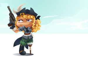 Dreaded-land-pirate by RoseRei