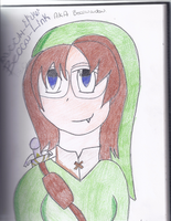 Self portrait: Becca-Link by dracosgirl400