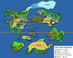 Sonic Series World Map by litesonicspeed