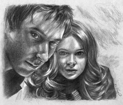 The Ponds from Doctor Who by JennyTaravosh
