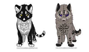 Halloween Cubs Auction ( closed 0/2) by SummerWaruAdopts