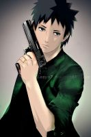 Obito with gun... by Lesya7