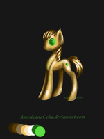 Golden  MLP (closed) by AmericanaCelta