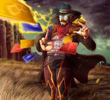 Twisted Fate - High Noon by Karolykan