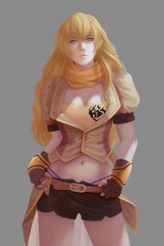 RWBY - Yang Xiao Long by chenousang