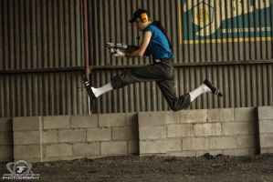 Double Jump - TF2 Scout Cosplay by ElvisDitto