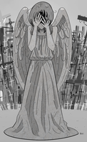 APH+DW: Weeping Angel by WisteriaPeacock