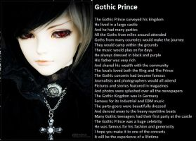 Gothic Prince by demonrobber