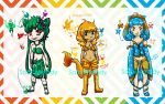 Kanto Starters Adoptables OPEN ON SALE by SolbiiMelody
