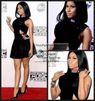 PHOTOPACK NICKI MINAJ AMA'S 2014 by SuperBassPngs2