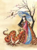 Chinese Princess by asiapasek
