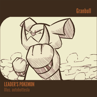 025 VS LEADERS POKEMON - Granbull