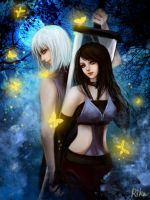 Suigetsu and  Kina by RikaMello
