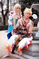 Ragnarok Online - Archbishop and Shura II by Calssara