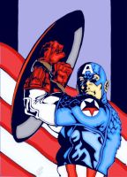 capn america by irbilly