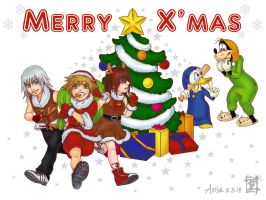 Merry Christmas! (KH Ver.) by ARISA777o-w-o