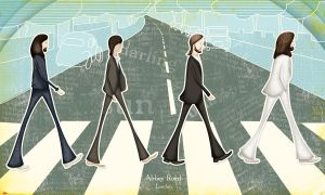 The Beatles by BrunaAlves