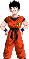 Gohan Vector (Turtle Hermit uniform) by l0gun