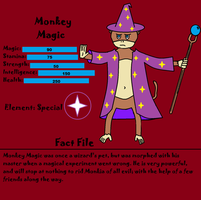 Monkey Magic Fact File by monkeymagic110